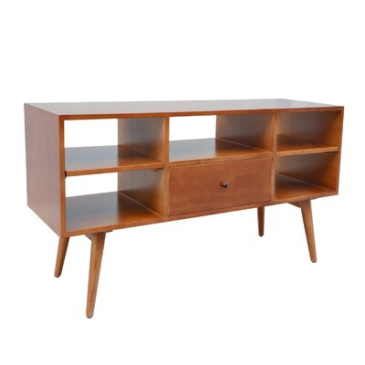 Shoreham Media Console 46.9 TV Stand Color: Natural