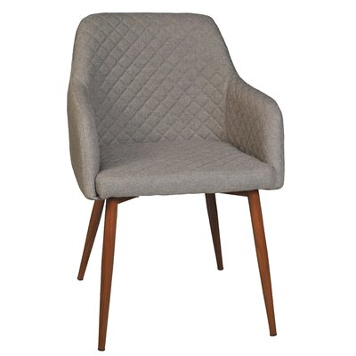 Baltimore Upholstered Dining Chair Color: Gray