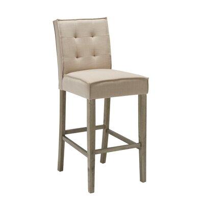 Fiddlewood 30 Barstool Upholstery: Cream