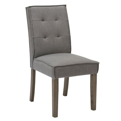 Royal Upholstered Dining Chair Upholstery Color: Grey