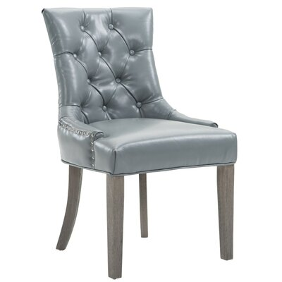 Darcelle Nailhead Upholstered Dining Chair