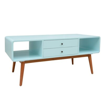 Ullrich 47 TV Stand Table Top Color: Aqua