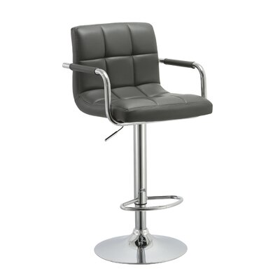 Kerin Adjustable Height Swivel Bar Stool