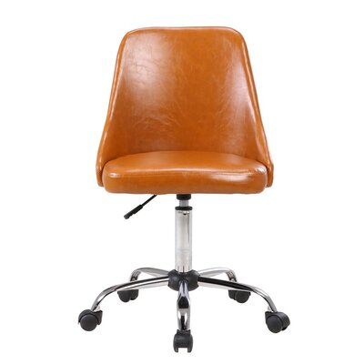 Rizzuto Office Chair Color: Brown