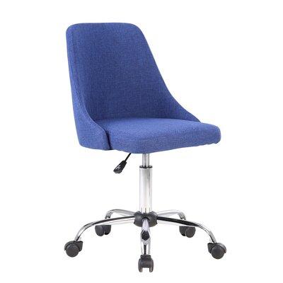 Roache Office Chair Color: Blue