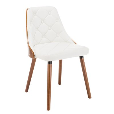 Gracelynn Upholstered Dining Chair Upholstery Color: White
