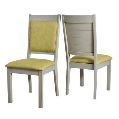 Pickerel Ladder Upholstered Dining Chair