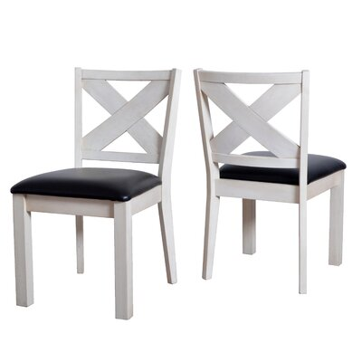 Hobart Wooden Upholstered Dining Chair