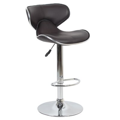 Bechard 23.62 Swivel Bar Stools Color: Brown