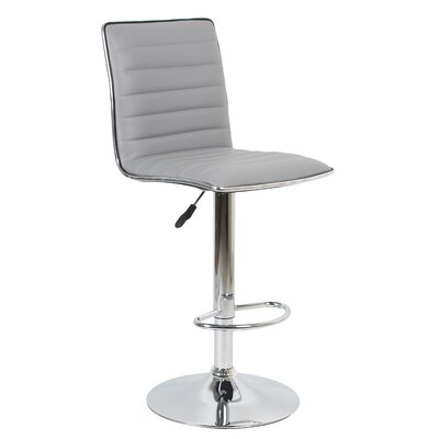 Beech Hill 23.62 Swivel Bar Stools Color: Gray