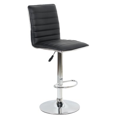 Beech Hill 23.62 Swivel Bar Stools Color: Black