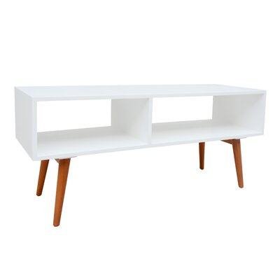 Stamford Media Console 46.9 TV Stand Color: White