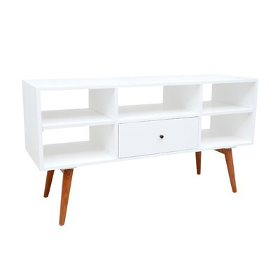 Shoreham Media Console 46.9 TV Stand Color: White