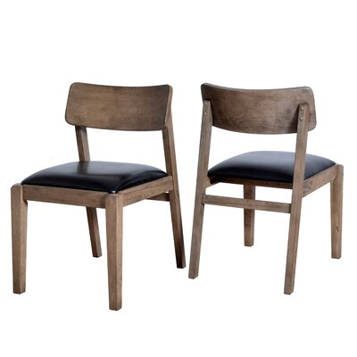 Vogel Wooden Upholstered Dining Chair