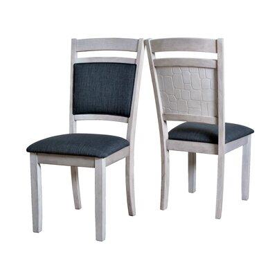 Pickney Embossed Upholstered Dining Chair