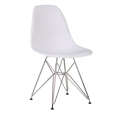 Innsbrook Upholstered Dining Chair Upholstery Color: White