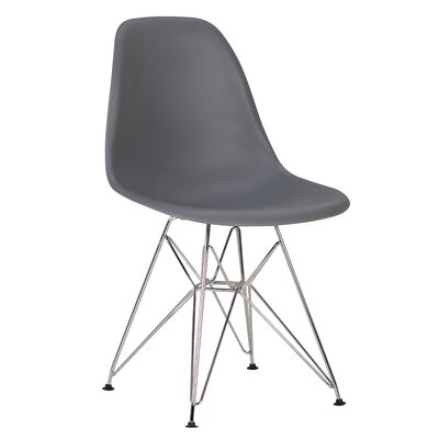 Innsbrook Upholstered Dining Chair Upholstery Color: Gray