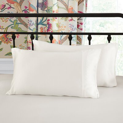 Pure Silk Pillowcase 25 Momme Color: Ivory