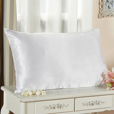 Pure Silk Pillowcase 25 Momme Color: White