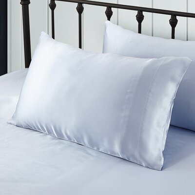 Pure Silk Pillowcase Size: 30 x 20, Color: Light Blue