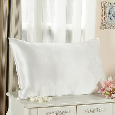 Pillow case Size: Queen, Color: Ivory
