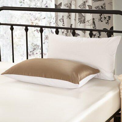 19 Momme Silk Pillowcase Color: Coffee