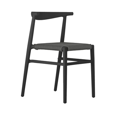 Joi Side Chair Upholstery: Antharacite