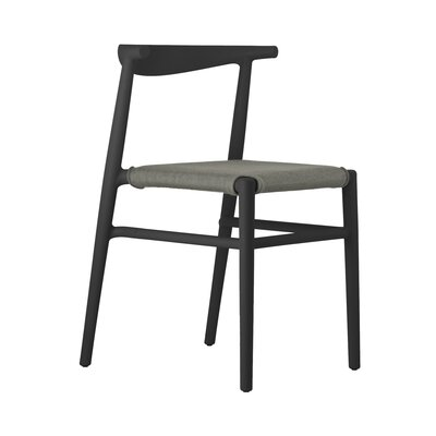 Joi Side Chair Upholstery: Coffee