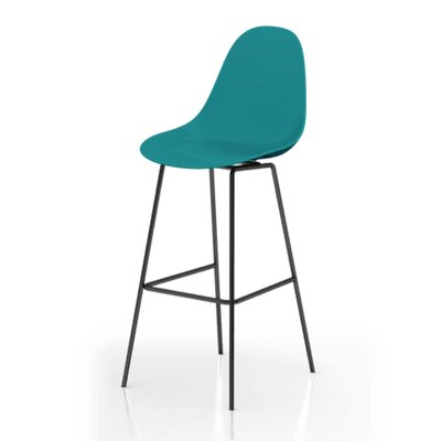 TA 29 Bar Stool Finish: Ocean Blue