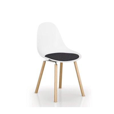 TA Dining Chair Cushion Fabric: Dark Gray