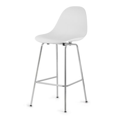 TA 29 Bar Stool Finish: White