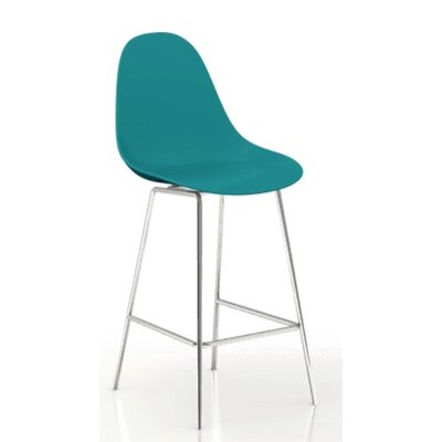 TA 24 Bar Stool Finish: Ocean Blue