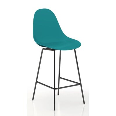 TA 24'' Bar Stool Finish: Ocean Blue