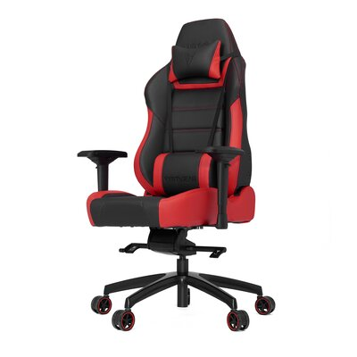 High-Back Gaming Office Chair with Arms Color: Red