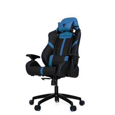 Racing Series S Line Gaming Chair Color: Black/Blue