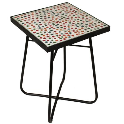 Color Mosaic End Table
