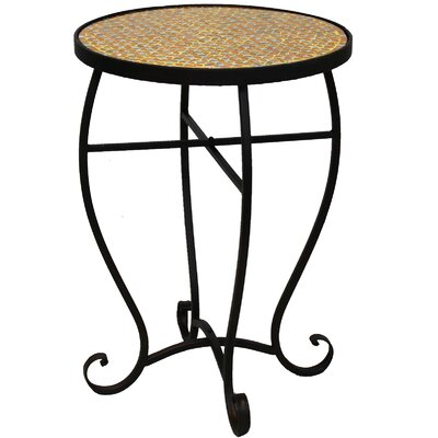 Moroccan Mosaic Round End Table