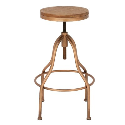 Jones Adjustable Height Bar Stool