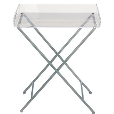 Modern Tray Top End Table
