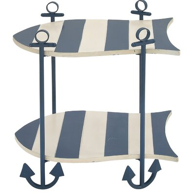 Malibu Ocean Nautical End Table