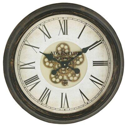 "Adventure Warrior London 24"" Wall Clock 7787966"
