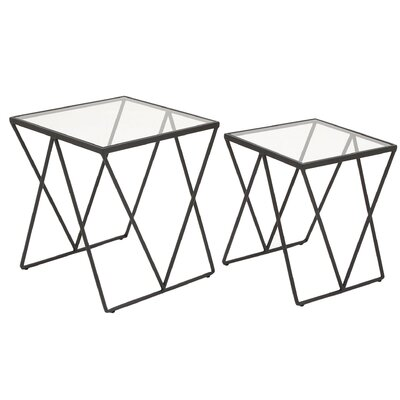 Cubed 2 Piece Nesting Tables
