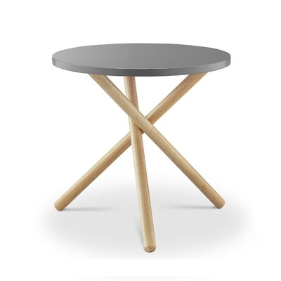 Humphery End Table Table Top Color: Gray