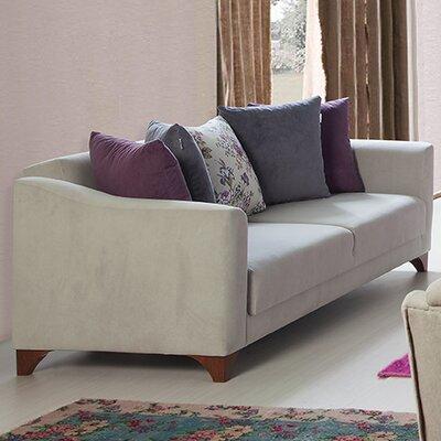 Sofa Upholstery: Cream/Offwhite