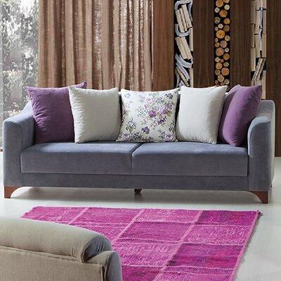 Sofa Upholstery: Purple
