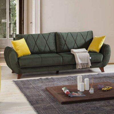 Mirage Sofa Upholstery: Green