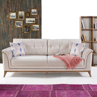 Alextown Sofa Upholstery: Cream