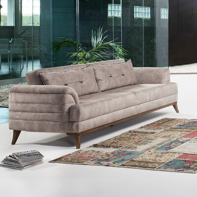 Hoffman Sofa by Perla Furniture Upholstery: Cream