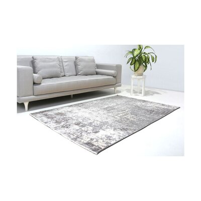 Bindu Gray/Brown Area Rug
