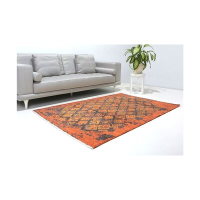 Eruh Burnt Orange Area Rug